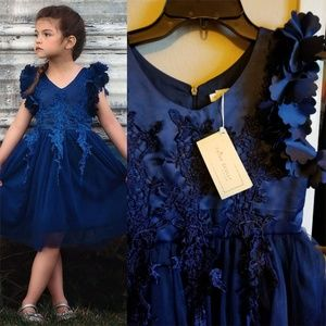 Other - Trish Scully blue tulle dress